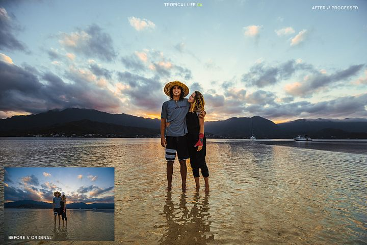 12 Tropical Life Presets for Lightroom example 5
