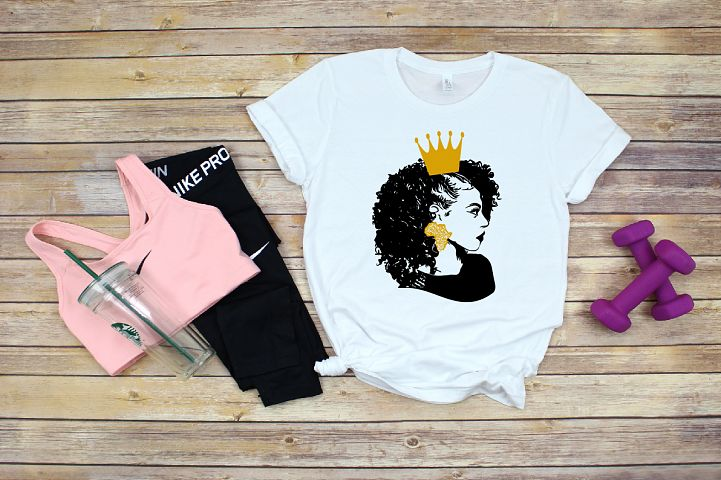 Black Woman Nubian Princess Queen Beautiful African 706SV