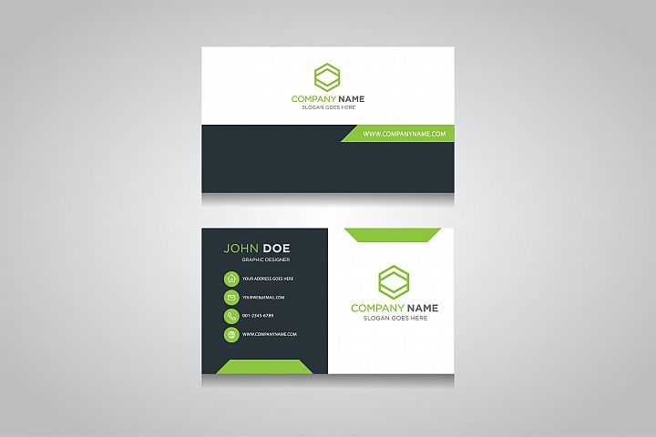 Business Card Template. creative business card