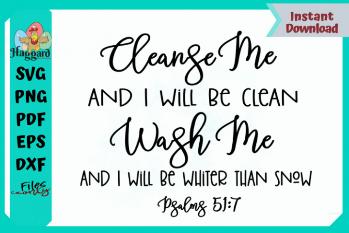 Cleanse Me Psalms 51-7