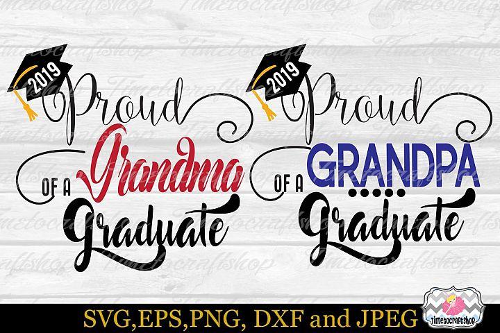 Proud Grandpa, Proud Grandma of a 2019 Graduate