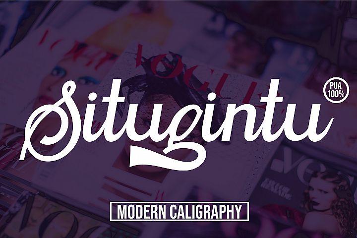 Situgintu Calligraphy