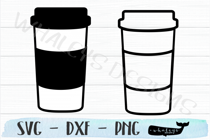Coffee and Tea Cup - Mug SVG Design for Silhouette & Cricut