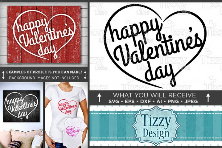Happy Valentines Day Sign SVG - Valentines Day SVG - 1512