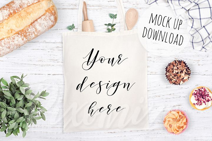 Tote Bag Mockup Photography