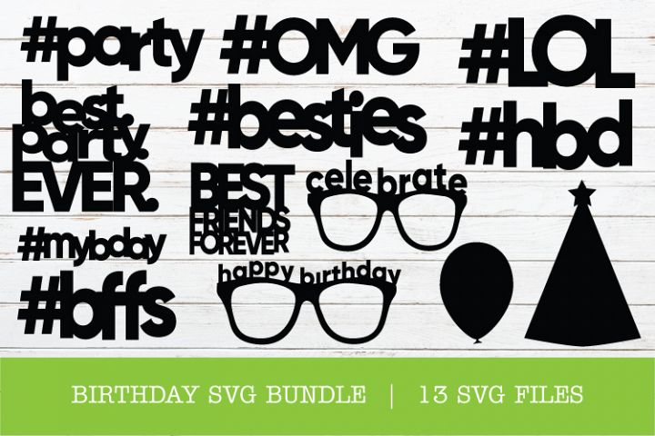 FIRST BIRTHDAY SVG BUNDLE