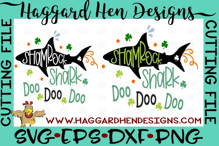 Shamrock Shark SVG