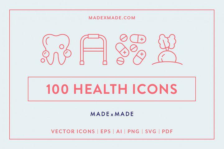 Line Icons - Health