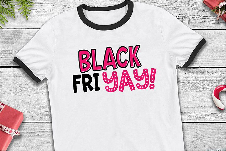 Black Friday SVG, Shop Til You Drop Sublimation, Christmas