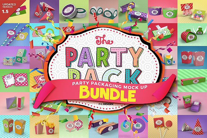 The Party Pack Mockup BUNDLE