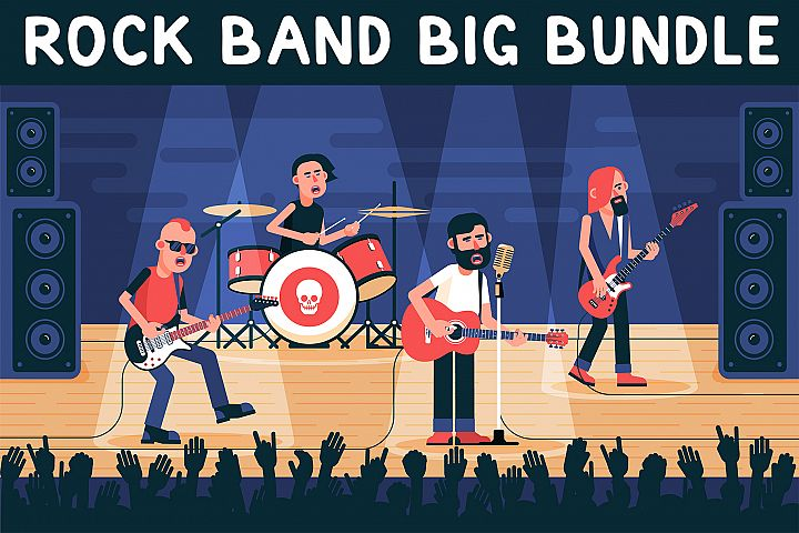 Rock Band Big Bundle