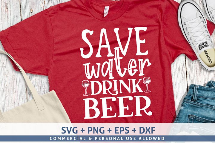 Save water, drink beer-01svg design