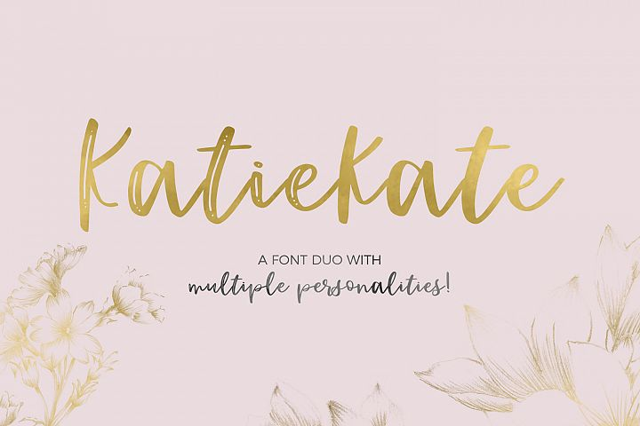 Katiekate Font Duo
