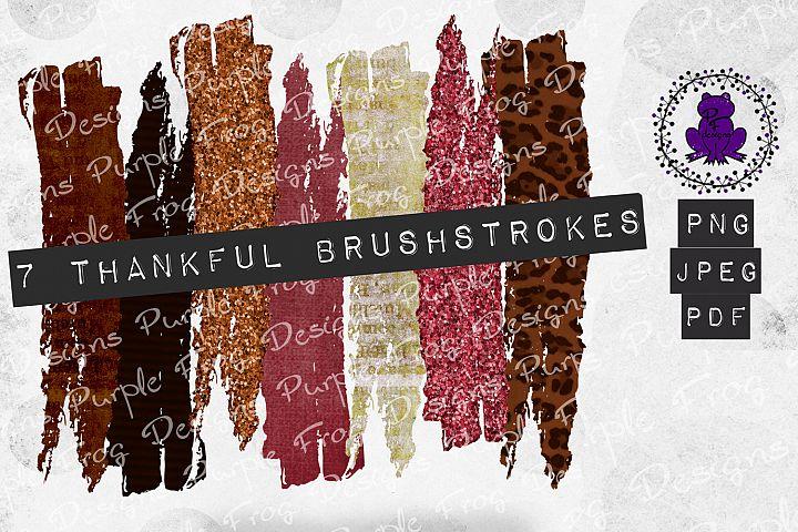 Brushstroke Bundle Fall Brush Stroke Glitter leopard