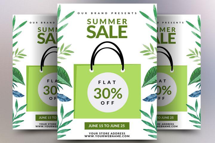 Biggest Summer Sale Flyer