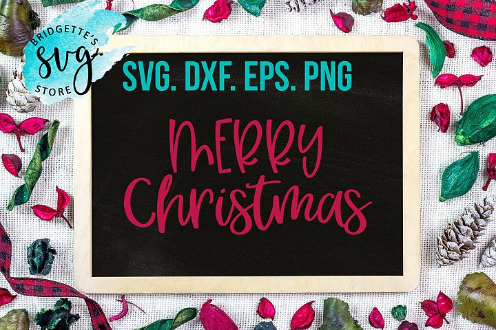Christmas SVG DXF PNG EPS file