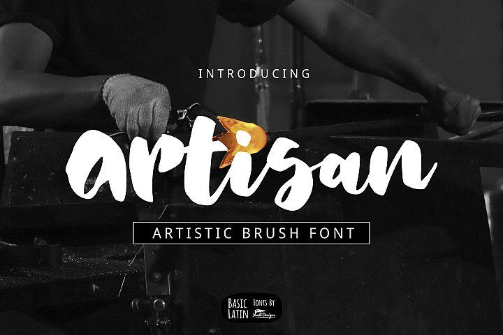 Artisan Brush Font