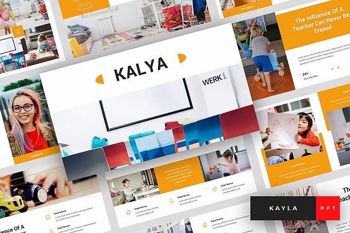 Kayla - Kindergarten PowerPoint Template