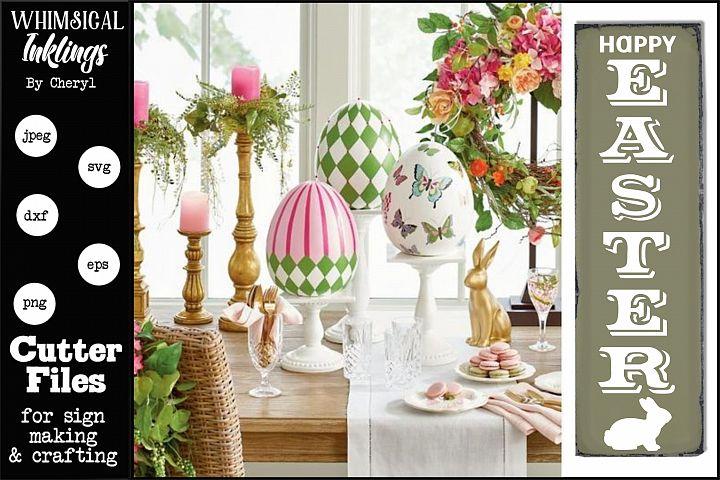 Happy Easter Vertical 2 SVG
