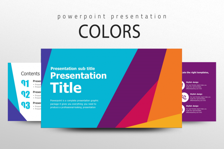 Colors Presentation Template