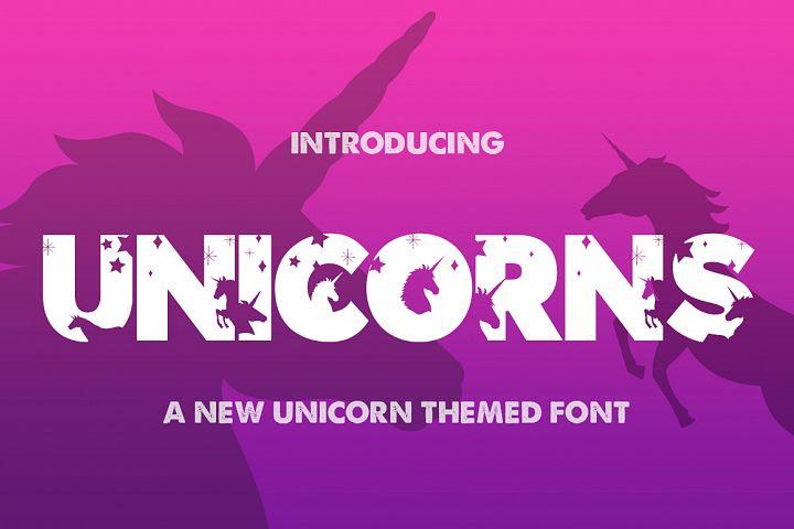 The Unicorns Font