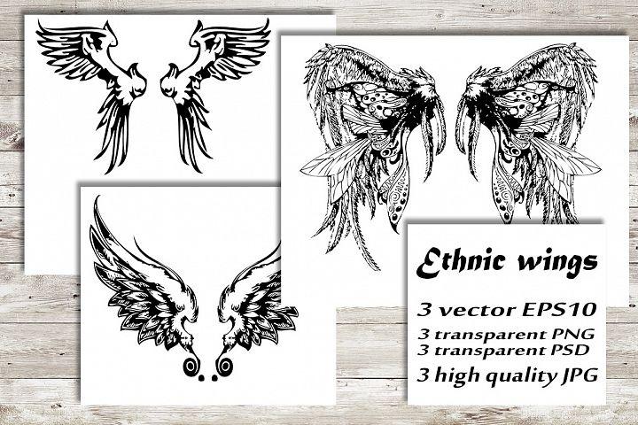 Ethnic wings