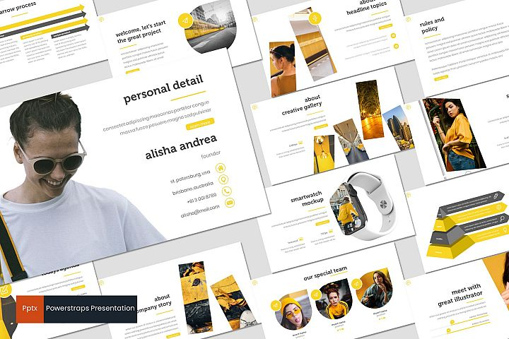 Powerstraps - Powerpoint Template