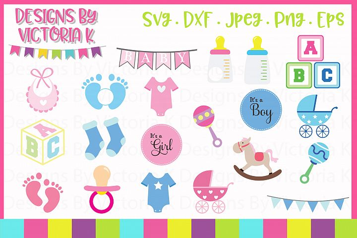 New Baby SVG Cut Files