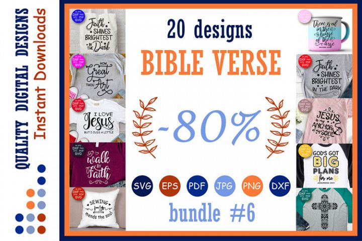 Bible verse SVG Bundle Svg files sayings