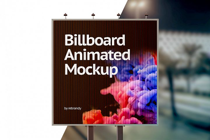 Billboard Animated Mockup