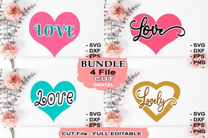 Bundle Svg Love