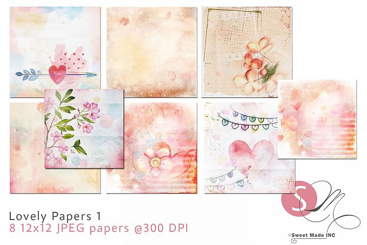 Lovely Papers 1