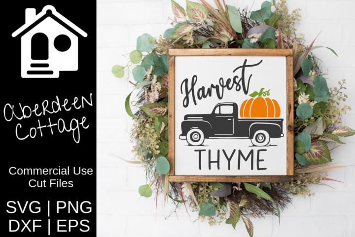 Harvest Thyme SVG
