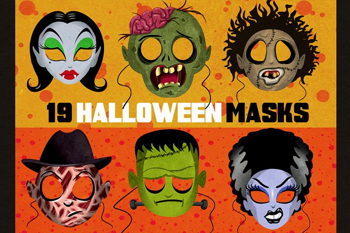 19 Classic Halloween Masks