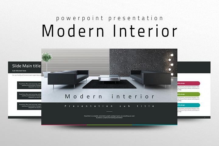 Modern Interior PPT Template
