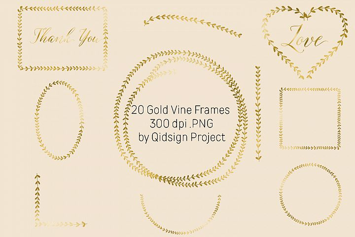 Doodle Wreath Frames Clipart and banner PNG