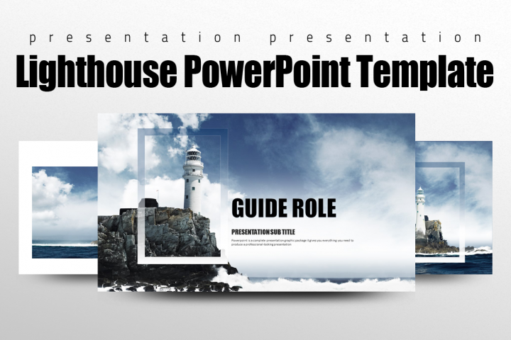 Lighthouse PowerPoint Template
