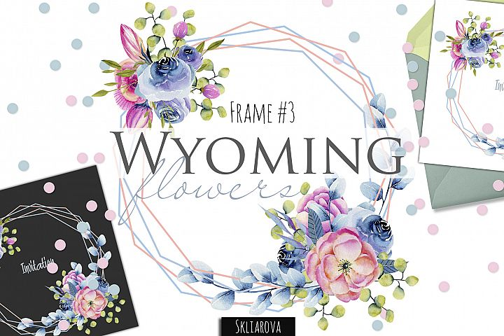 Wyoming flowers. Frame #3