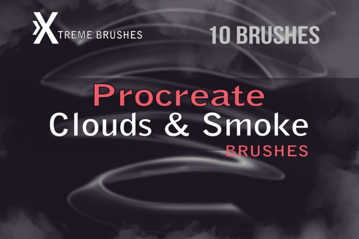 Procreate Clouds & Smoke Brushes