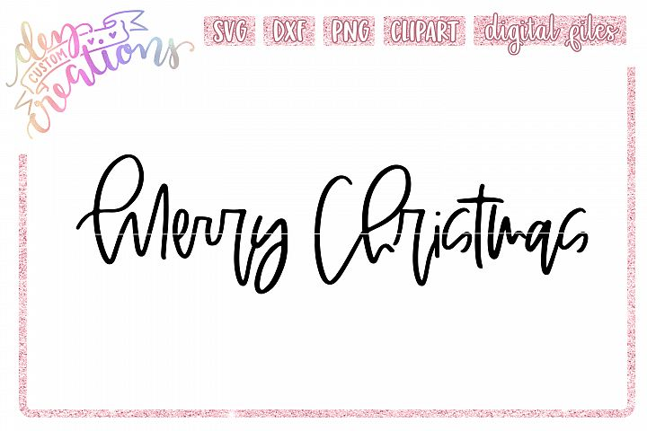 Merry Christmas - SVG DXF PNG Cut Files