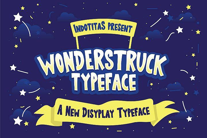 Wonderstruck Typeface