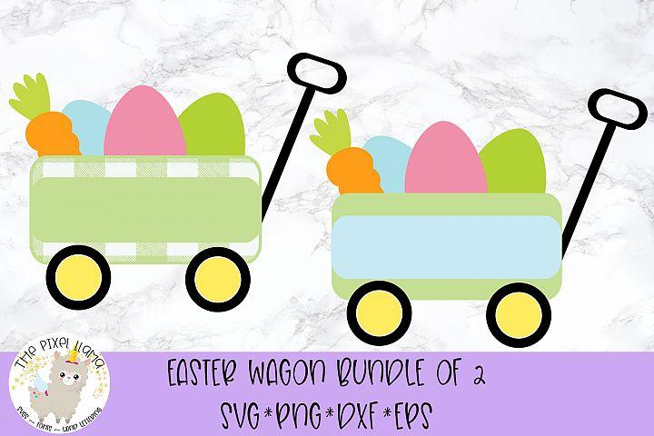 Easter Wagon Bundle SVG Cut File