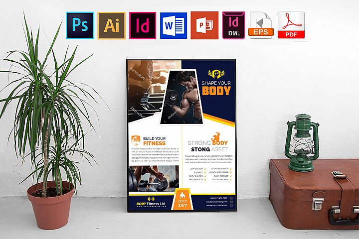 Poster   Gym & Fitness Vol-02