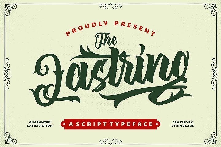 The Lastring - Tattoo Script Font