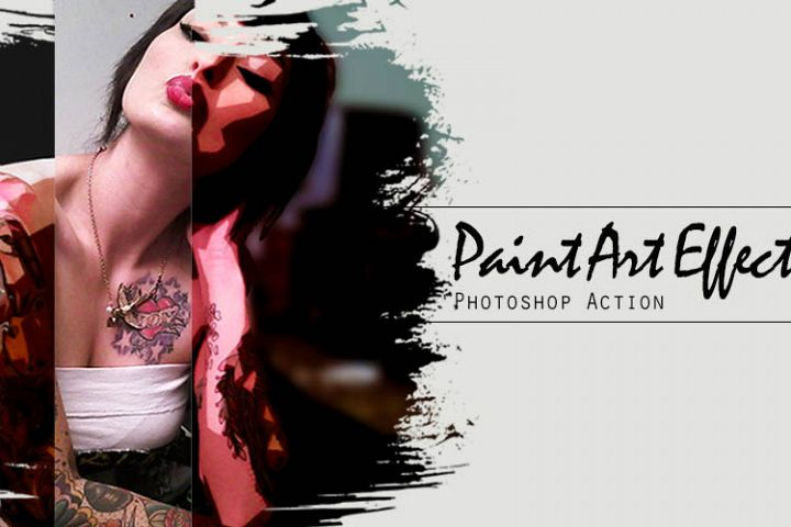 Paint Art Photoshop Action
