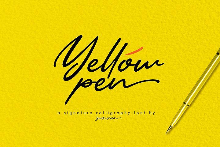 Yellow Pen Script