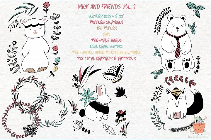 Mick and Friends Collection Vol 1