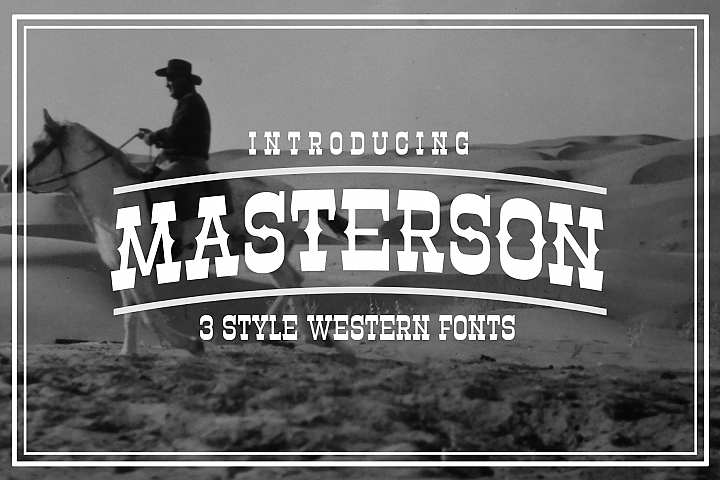 Masterson Font Family