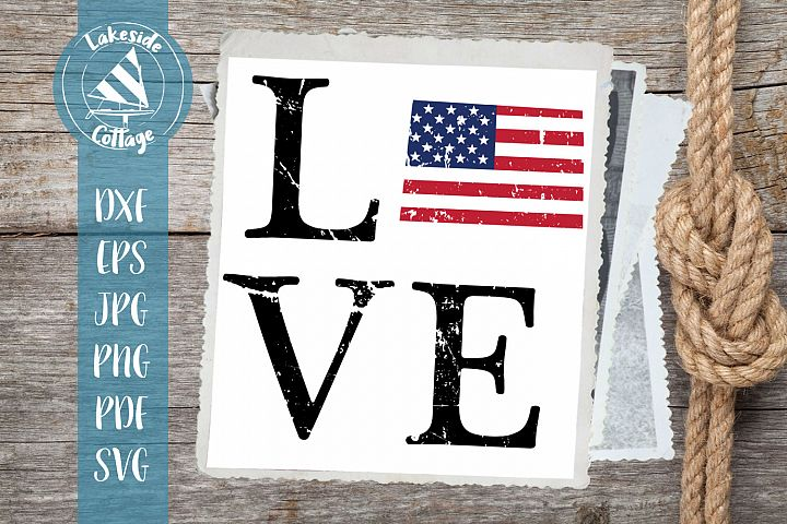 Love Colorado - 4th of July svg - memorial day svg dxf eps