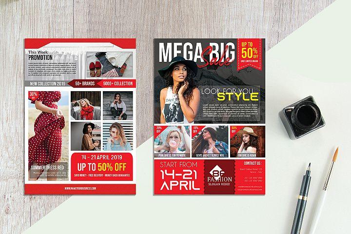 Fashion Sale Flyer vol. 06